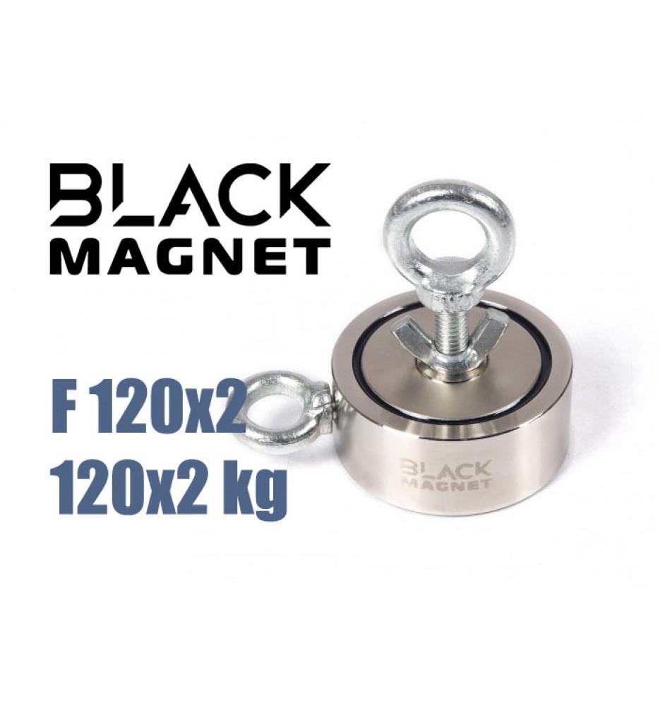 Magnes neodymowy Black Magnet F120x2