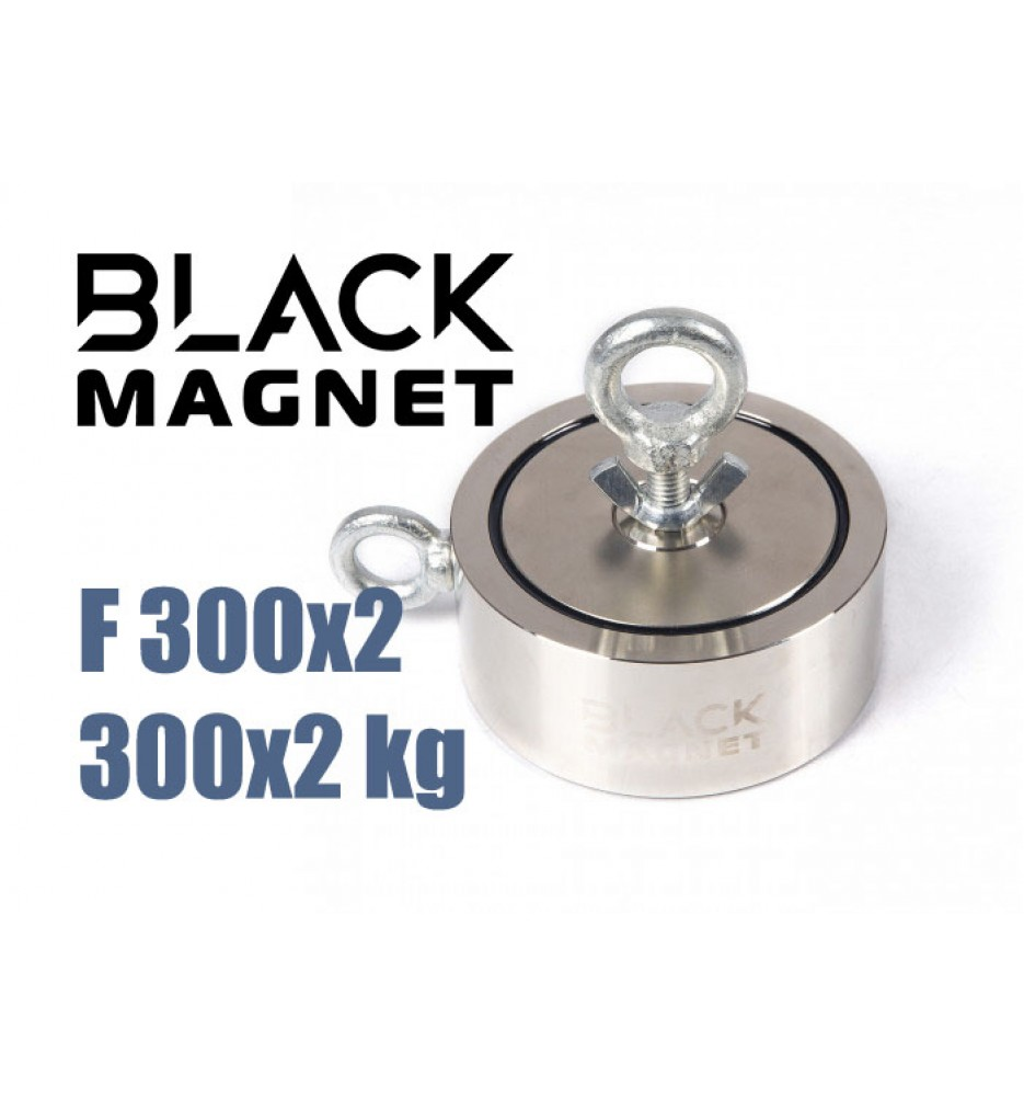 Magnes neodymowy Black Magnet F300x2