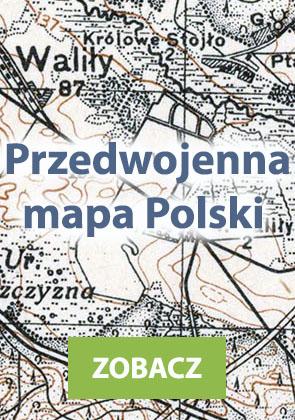 Przedwojenna mapa Polski